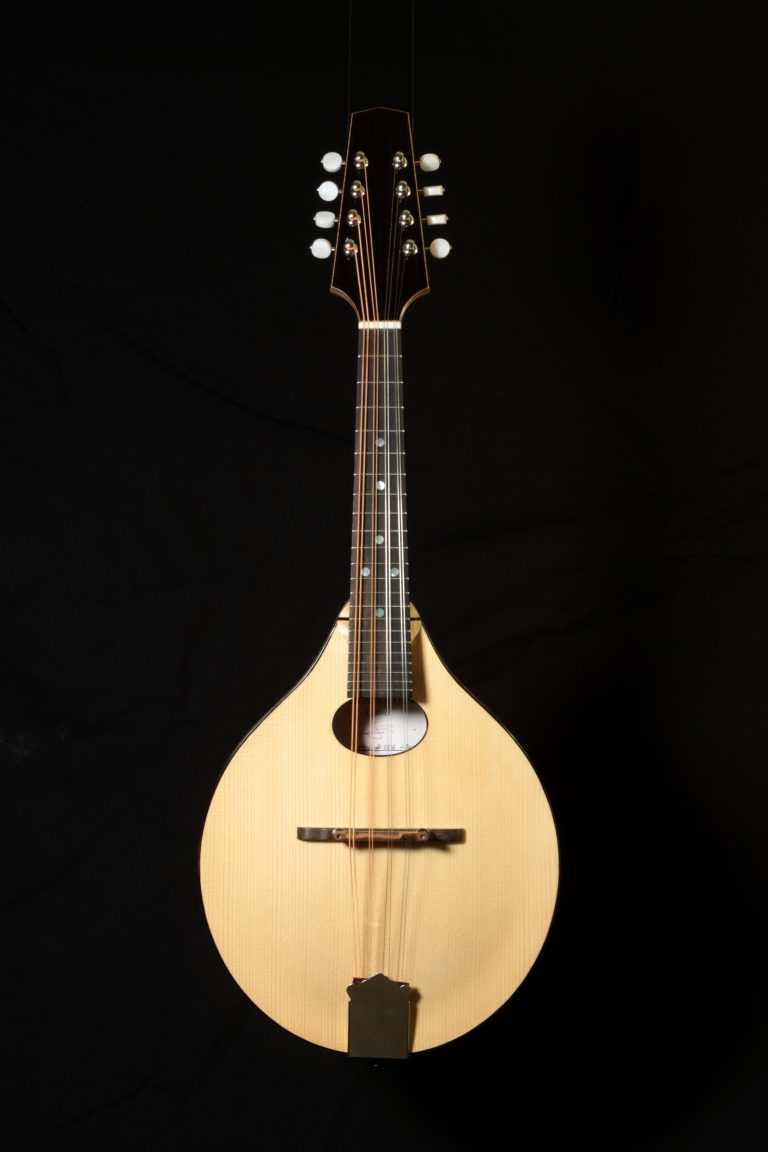 Mandoline archtop style A - face