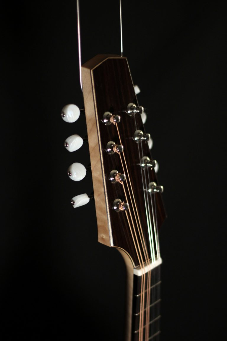 Mandoline archtop style A - tête